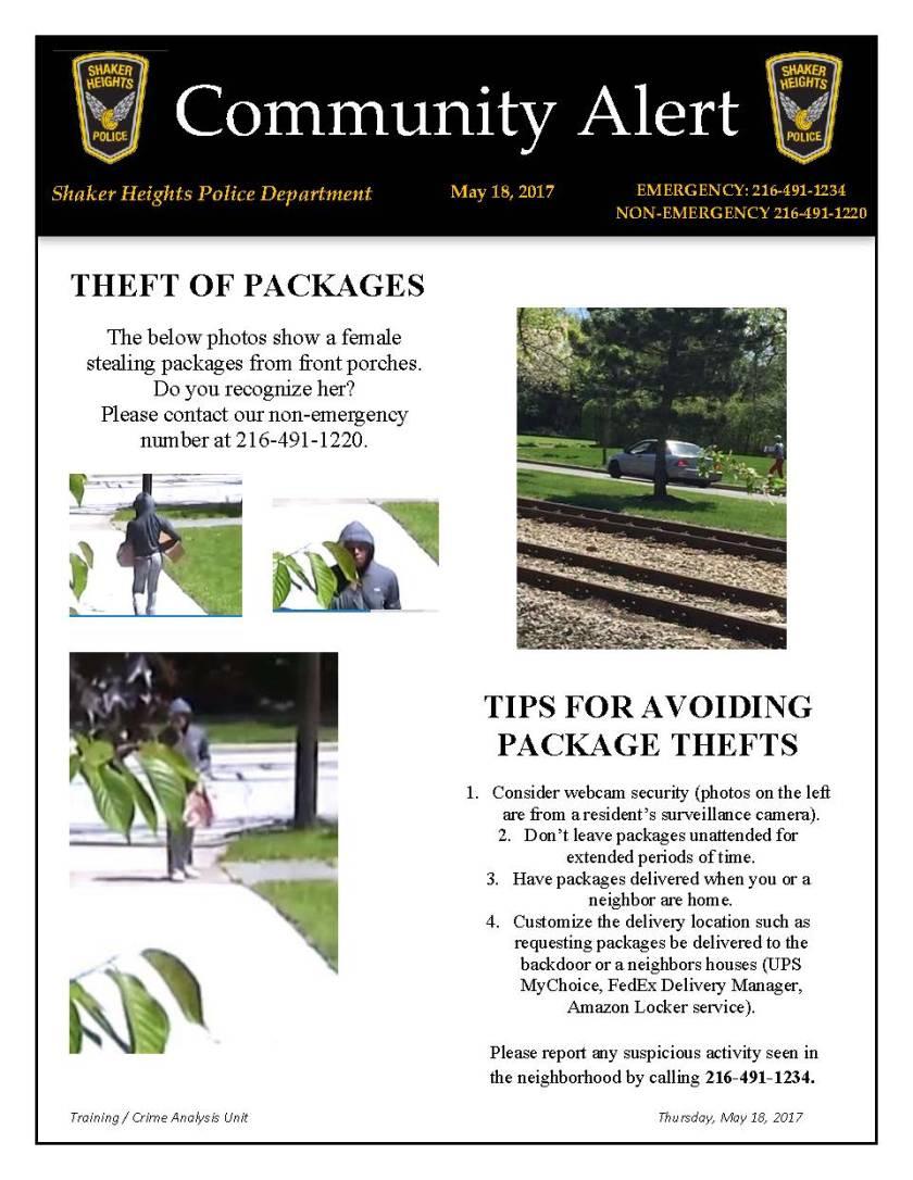 Community Alert 051817